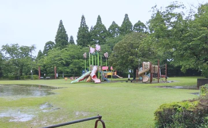 天ケ城公園の遊具