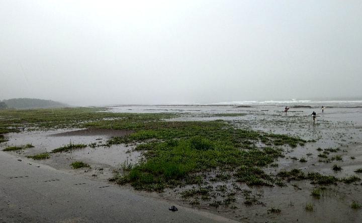 お倉ヶ浜海水浴場北側