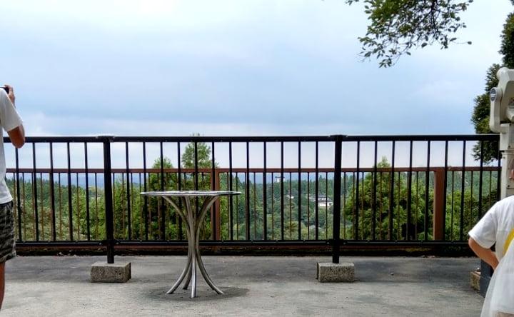 展望台の眺め