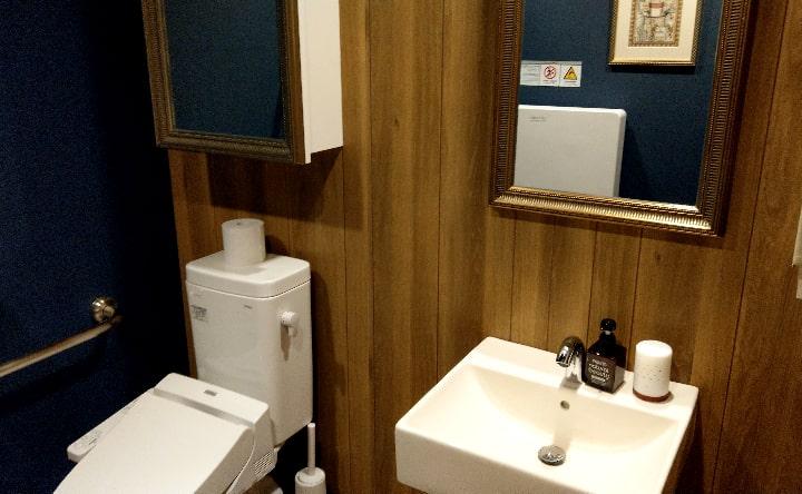 星乃珈琲宮崎店のトイレ