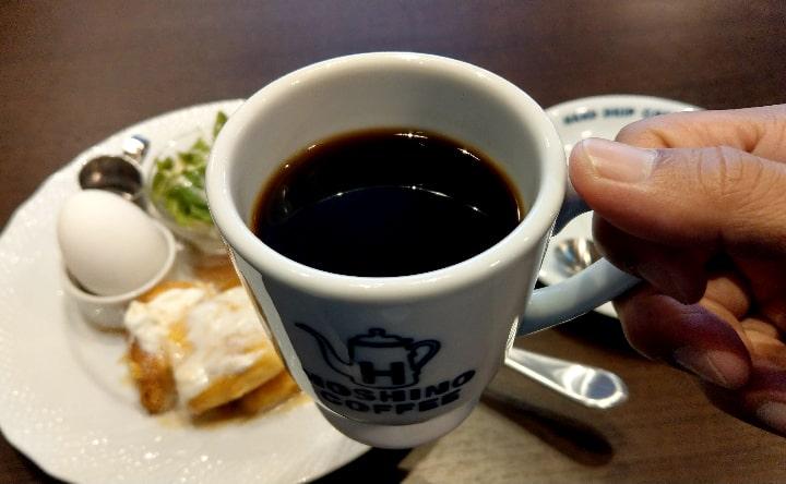 星乃ブレンドコーヒーアップ