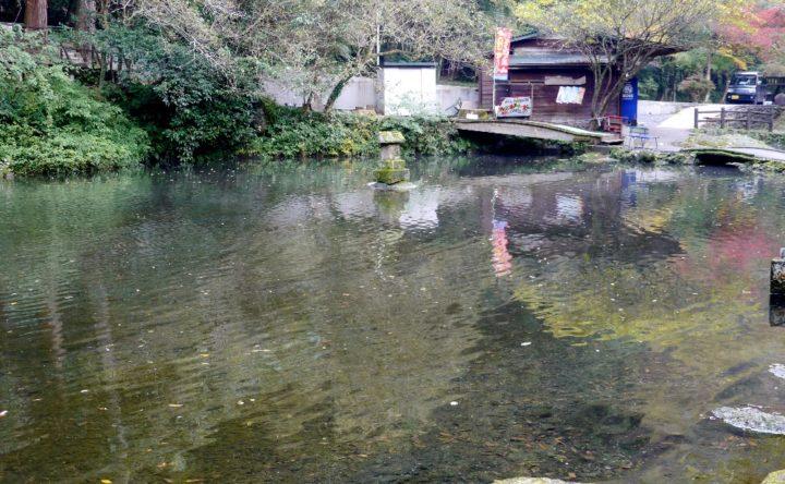 高千穂峡のおのころ池