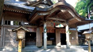 高千穂神社の本殿