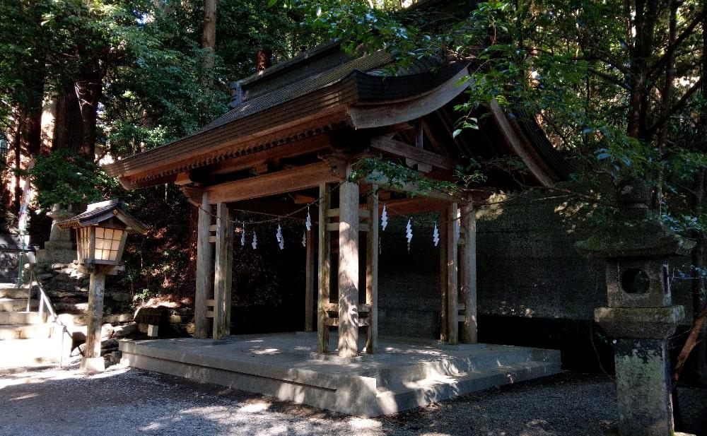 高千穂神社のお祓い所