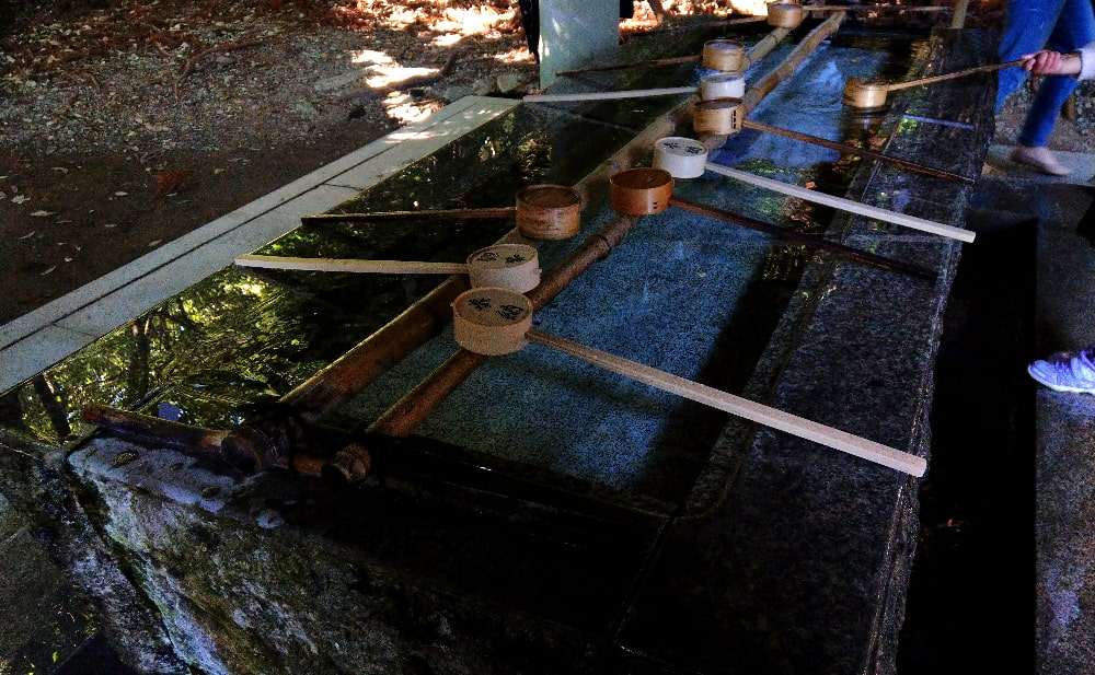 高千穂神社の手水所